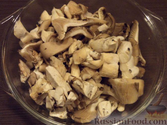 Фото приготовления рецепта: Суп-пюре из тыквы и грибов - шаг №5