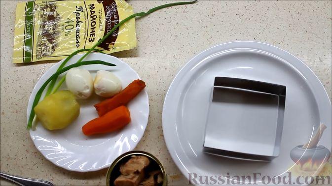 ингредиенты на салат мимоза рецепт