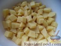 Фото приготовления рецепта: Запеканка картофельная с тыквой - шаг №2