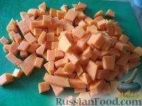 Фото приготовления рецепта: Запеканка картофельная с тыквой - шаг №3