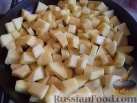 Фото приготовления рецепта: Запеканка картофельная с тыквой - шаг №5