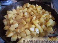 Фото приготовления рецепта: Запеканка картофельная с тыквой - шаг №6