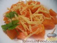 Фото к рецепту: Гарнир из тыквы