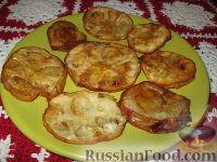 Фото к рецепту: Жареные баклажаны с медом