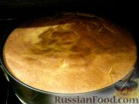 Фото к рецепту: Бисквит с тыквой