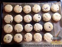 Фото приготовления рецепта: Сырники с яблоком и сухофруктами - шаг №7