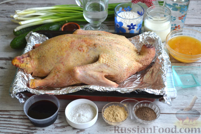 Рецепт утка по пекинский