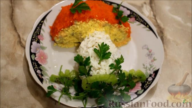 салат с вешенками и огурцами рецепт