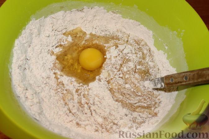 Фото приготовления рецепта: Отрывной яблочный пирог - шаг №18