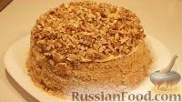 Фото приготовления рецепта: Торт на сковороде, с заварным кремом - шаг №9