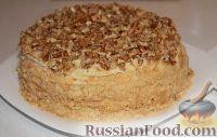 Фото приготовления рецепта: Торт на сковороде, с заварным кремом - шаг №10