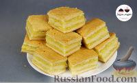Фото к рецепту: Пирожные с лимонно-апельсиновой начинкой