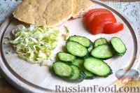 Фото приготовления рецепта: Донер-кебаб - шаг №13