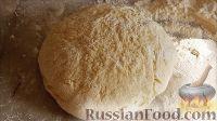 Фото к рецепту: Творожное тесто без масла
