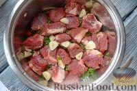Фото приготовления рецепта: Хашлама из говядины - шаг №6