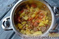 Фото приготовления рецепта: Хашлама из говядины - шаг №10