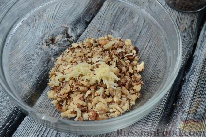 салат рецепт с языком и грецким орехом рецепт