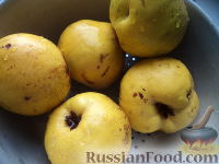 Фото приготовления рецепта: Варенье из айвы - шаг №2