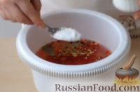 Фото приготовления рецепта: Шампиньоны маринованные - шаг №5