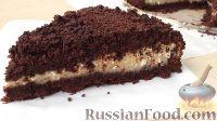 Фото к рецепту: Шоколадно-творожный торт