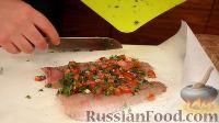 Фото приготовления рецепта: Запеченная речная форель - шаг №8