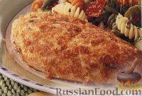 Фото к рецепту: Куриное филе в хрустящей панировке