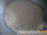 Фото приготовления рецепта: Рис на сковороде - шаг №3