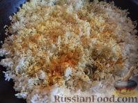 Фото приготовления рецепта: Рис на сковороде - шаг №7