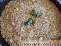 Фото к рецепту: Рис на сковороде