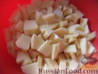 Фото приготовления рецепта: Постный борщ с фасолью и черносливом - шаг №5