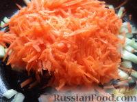 Фото приготовления рецепта: Постный борщ с фасолью и черносливом - шаг №4