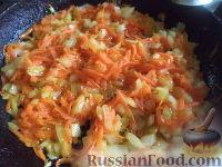 Фото приготовления рецепта: Постный борщ с фасолью и черносливом - шаг №12