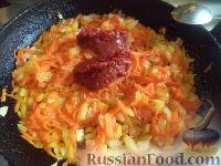 Фото приготовления рецепта: Постный борщ с фасолью и черносливом - шаг №13
