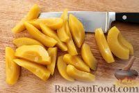 Фото приготовления рецепта: Персиковый коблер - шаг №2