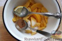 Фото приготовления рецепта: Персиковый коблер - шаг №3