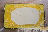 Фото приготовления рецепта: Персиковый коблер - шаг №8