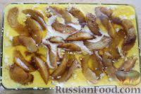 Фото приготовления рецепта: Персиковый коблер - шаг №9