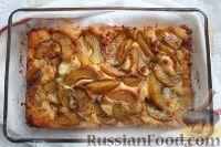 Фото приготовления рецепта: Персиковый коблер - шаг №10