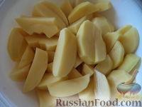 Фото приготовления рецепта: Картофель отварной с грибами - шаг №2