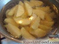 Фото приготовления рецепта: Картофель отварной с грибами - шаг №4