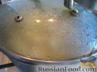 Фото приготовления рецепта: Картофель отварной с грибами - шаг №5