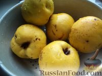 Фото приготовления рецепта: Варенье из айвы (первый способ) - шаг №2