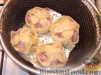 Фото приготовления рецепта: Манты - шаг №13
