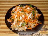 Фото приготовления рецепта: Репа с морковью - шаг №7