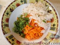 Фото приготовления рецепта: Репа с морковью - шаг №5