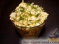 Фото приготовления рецепта: Салат из редьки с яйцами - шаг №8