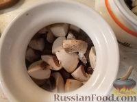 Фото приготовления рецепта: Жаркое из говядины в горшочке - шаг №11