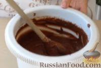 Фото приготовления рецепта: Шоколадный фондан - шаг №5
