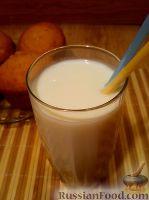 Фото приготовления рецепта: Кефир с медом - шаг №3