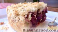 Фото к рецепту: Постный вишневый пирог
